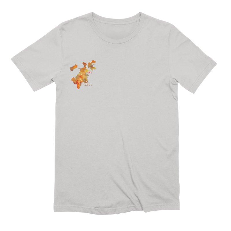 Left chest Men's T-Shirt by Hoodgrownaesthetic's Artist Shop