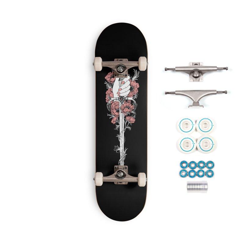 Stiletto Accessories Complete - Basic Skateboard by HookieDuke's Artist Shop