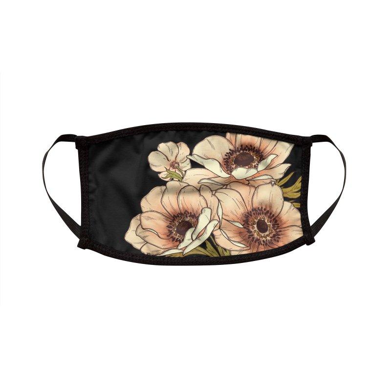 Anemone Accessories Face Mask by HookieDuke's Artist Shop