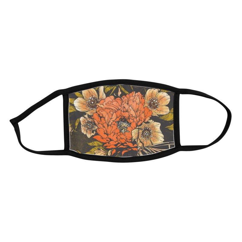 Bloom Lepis Accessories Face Mask by HookieDuke Threadless Shop