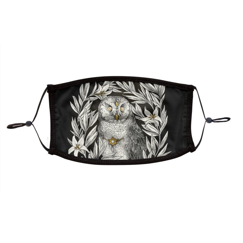 Owl Accessories Face Mask by HookieDuke Threadless Shop