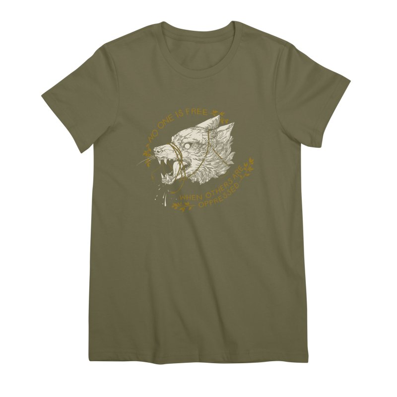 Resist Women's Premium T-Shirt by HookieDuke's Artist Shop