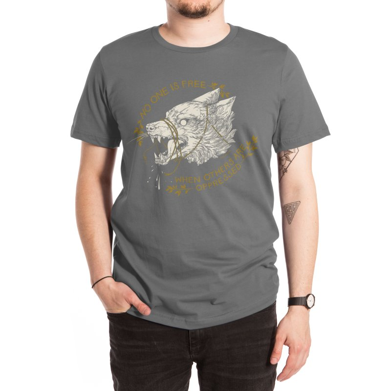 Resist Men's T-Shirt by HookieDuke's Artist Shop