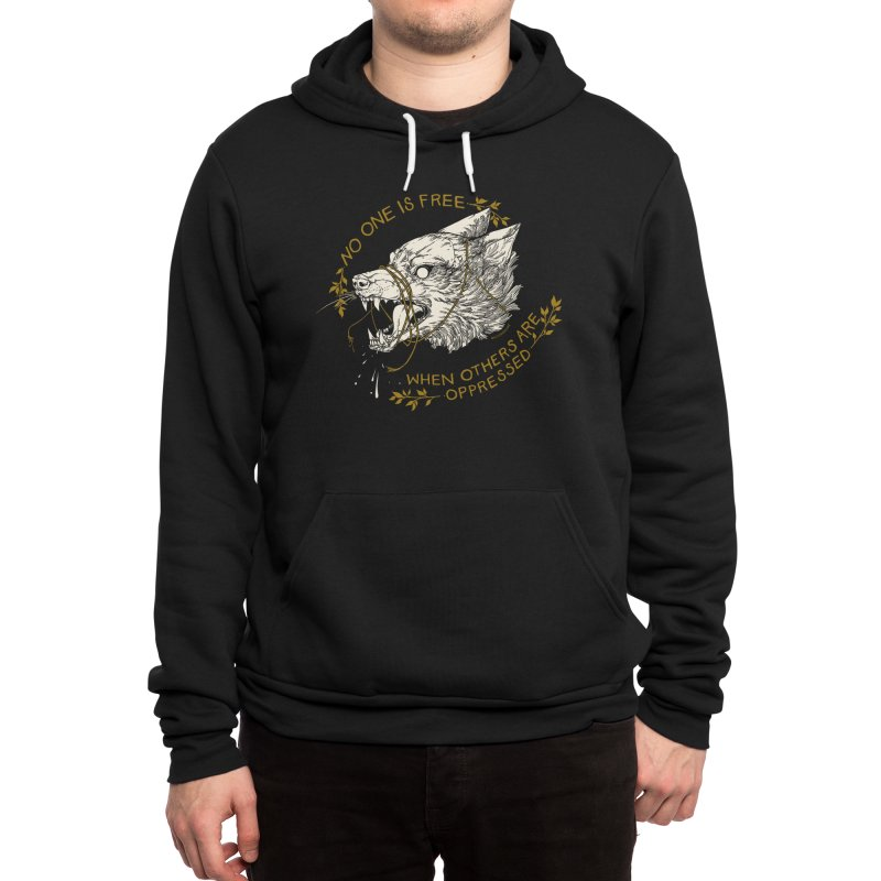 Resist Men's Pullover Hoody by HookieDuke Threadless Shop
