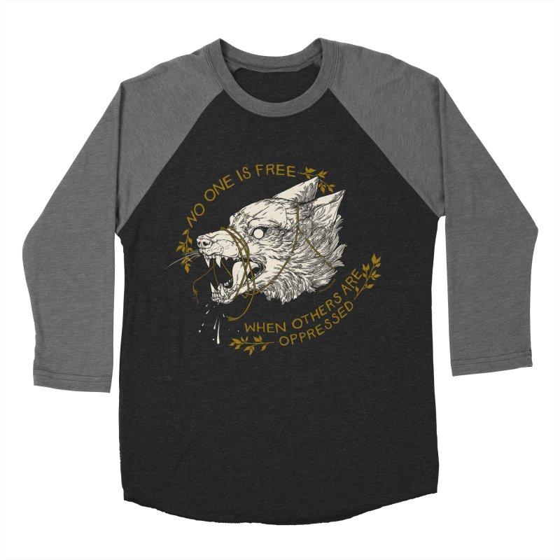Resist Men's Baseball Triblend Longsleeve T-Shirt by HookieDuke's Artist Shop