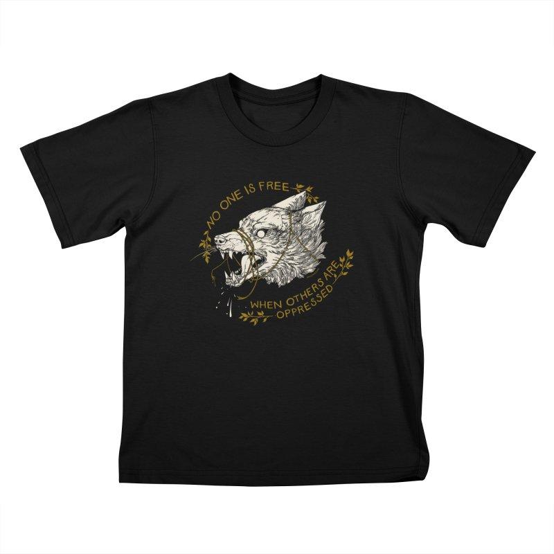 Resist Kids T-Shirt by HookieDuke's Artist Shop