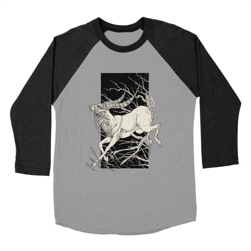 Yakul in Women's Baseball Triblend Longsleeve T-Shirt Heather Onyx Sleeves by HookieDuke's Artist Shop