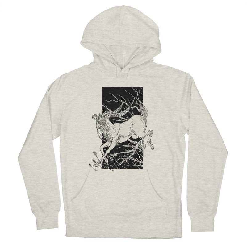 Yakul Women's French Terry Pullover Hoody by HookieDuke's Artist Shop