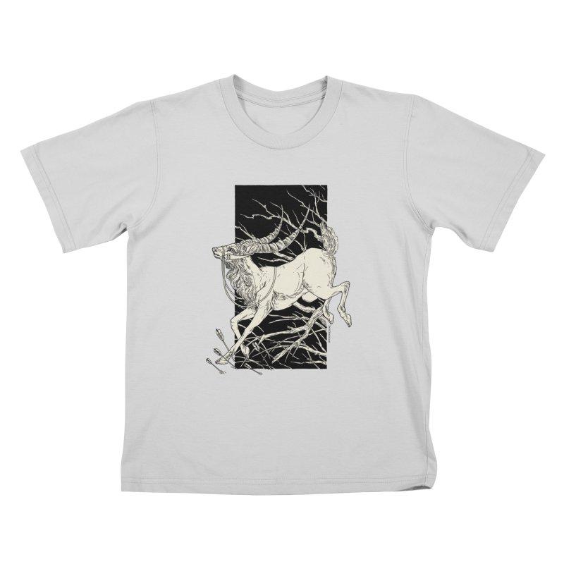 Yakul Kids T-Shirt by HookieDuke's Artist Shop