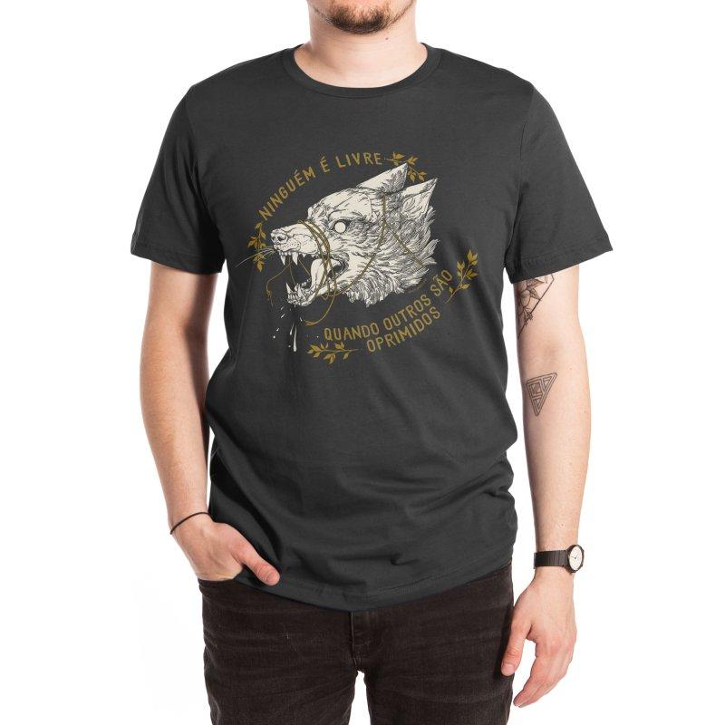 Resist (Portuguese) Men's T-Shirt by HookieDuke Threadless Shop