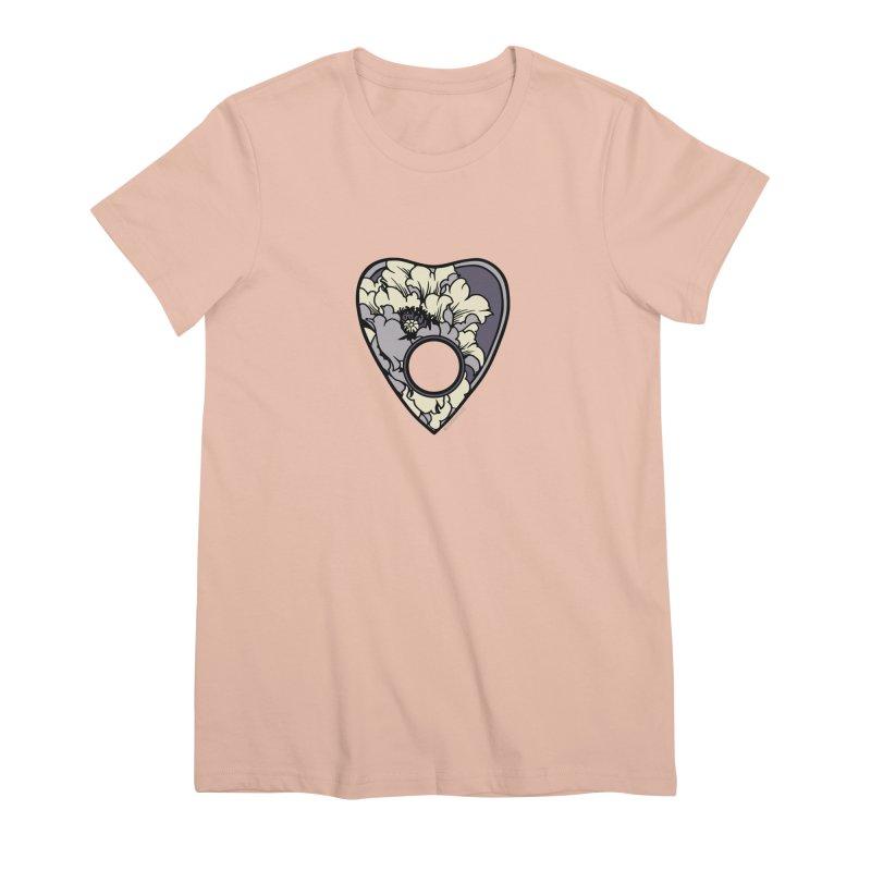 Peony Planchette Women's Premium T-Shirt by HookieDuke's Artist Shop