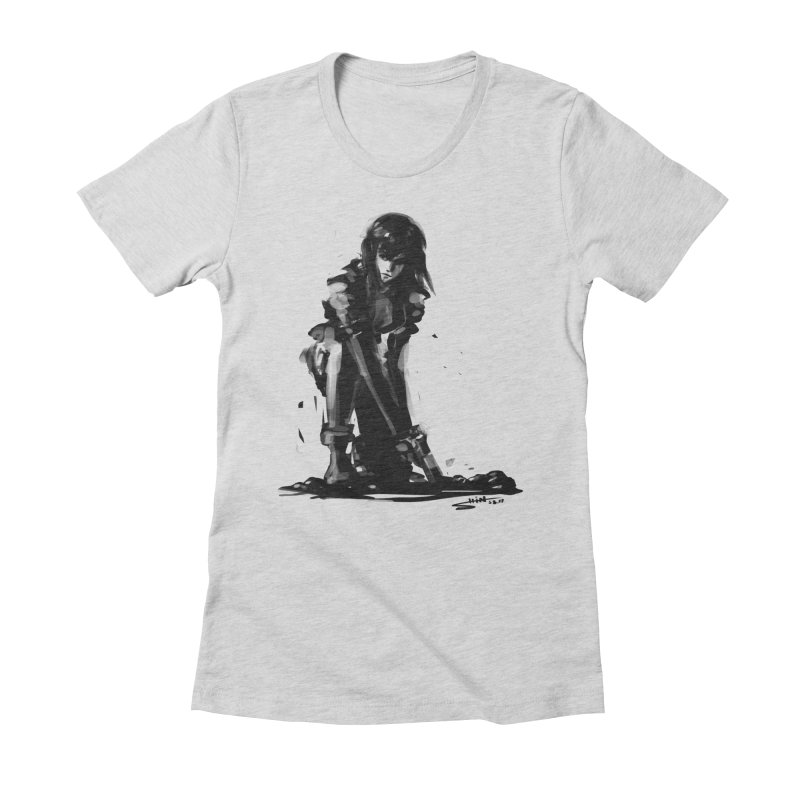Major K Women's Fitted T-Shirt by Hoonage's Artist Shop