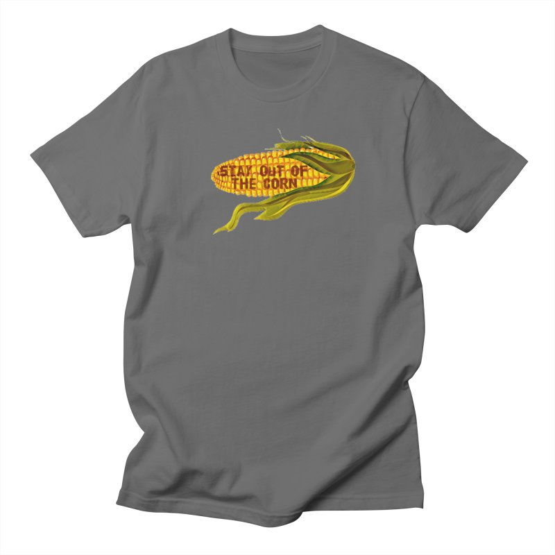 Stay Out of the Corn Men's T-Shirt by Hoosier Homicide's Artist Shop