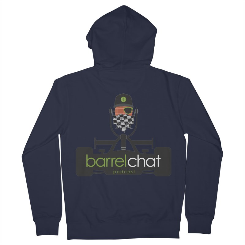 Barrel Chat Race Day Women's Zip-Up Hoody by Hopped Up Network's Artist Shop