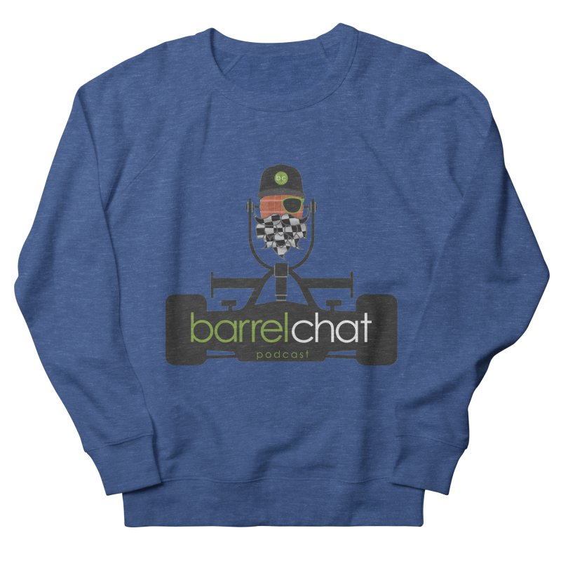Barrel Chat Race Day Men's French Terry Sweatshirt by Hopped Up Network's Artist Shop