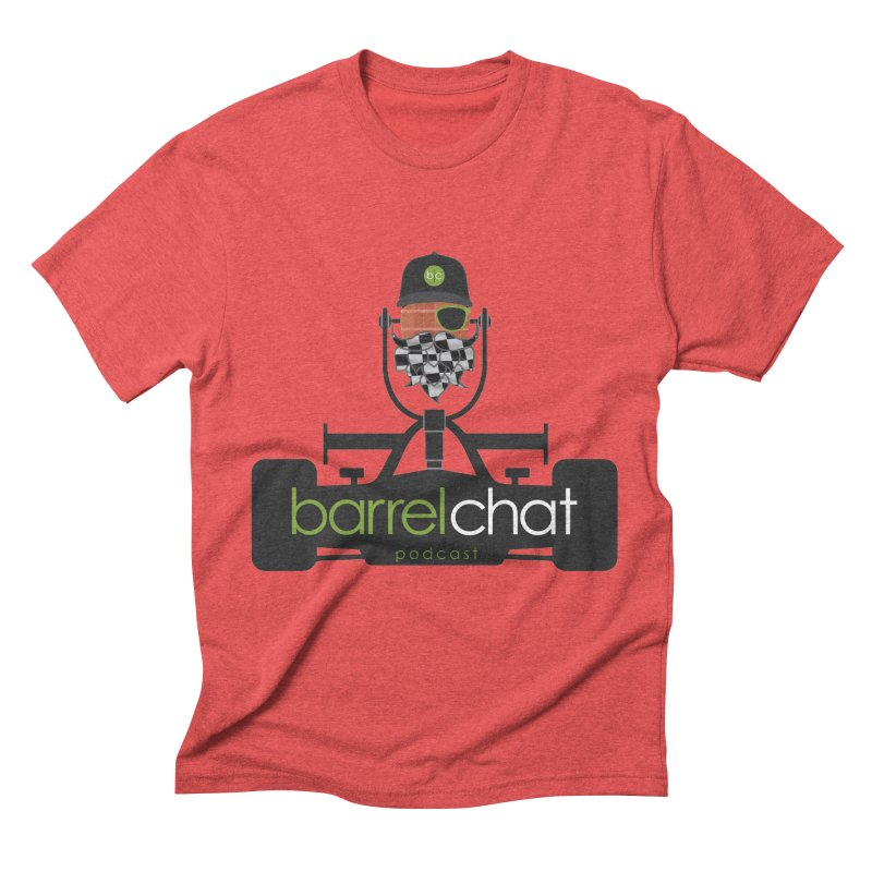 Barrel Chat Race Day Men's Triblend T-Shirt by Hopped Up Network's Artist Shop