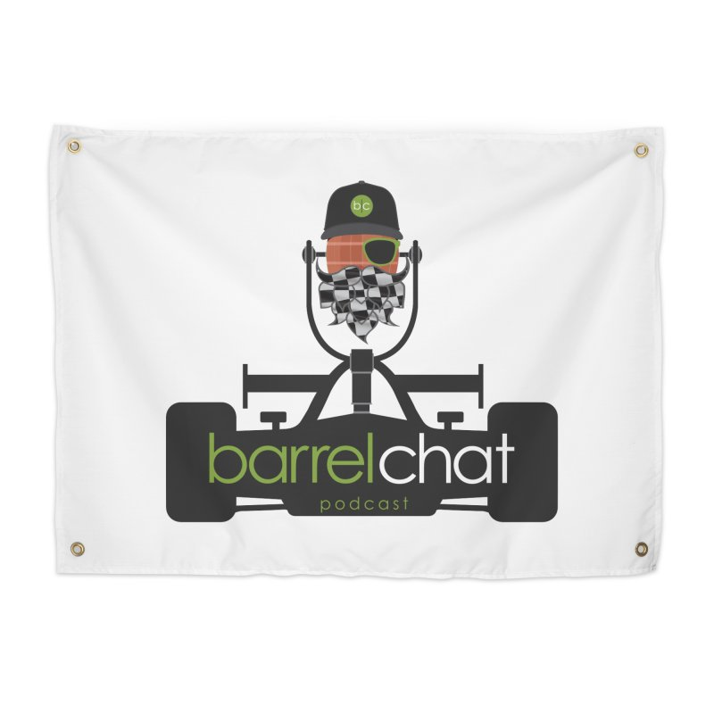 Barrel Chat Race Day Home Tapestry by Hopped Up Network's Artist Shop