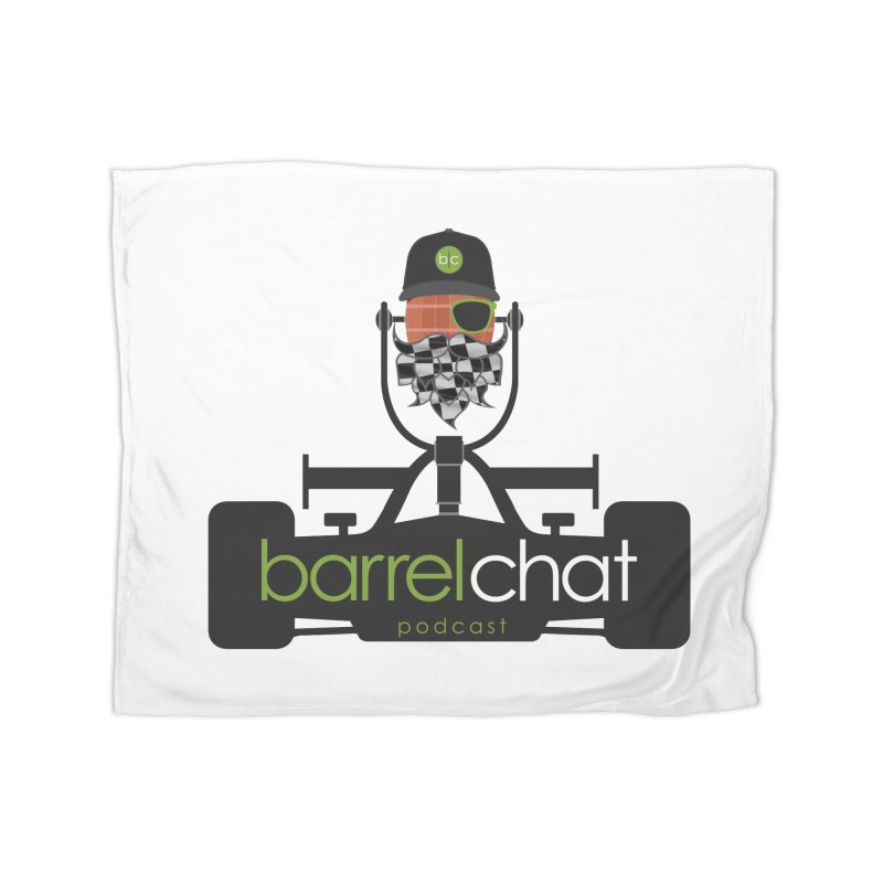 Barrel Chat Race Day Home Blanket by Hopped Up Network's Artist Shop