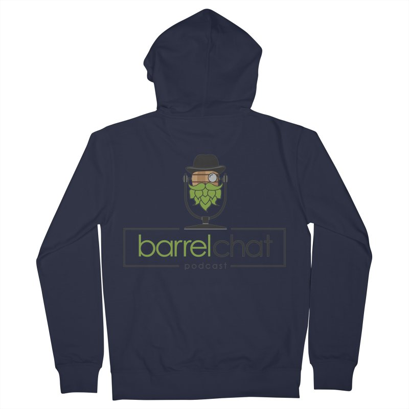 Barrel Chat Men's Zip-Up Hoody by Hopped Up Network's Artist Shop