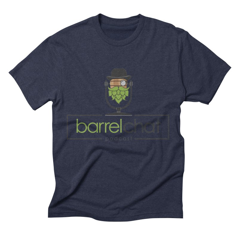 Barrel Chat Men's Triblend T-Shirt by Hopped Up Network's Artist Shop