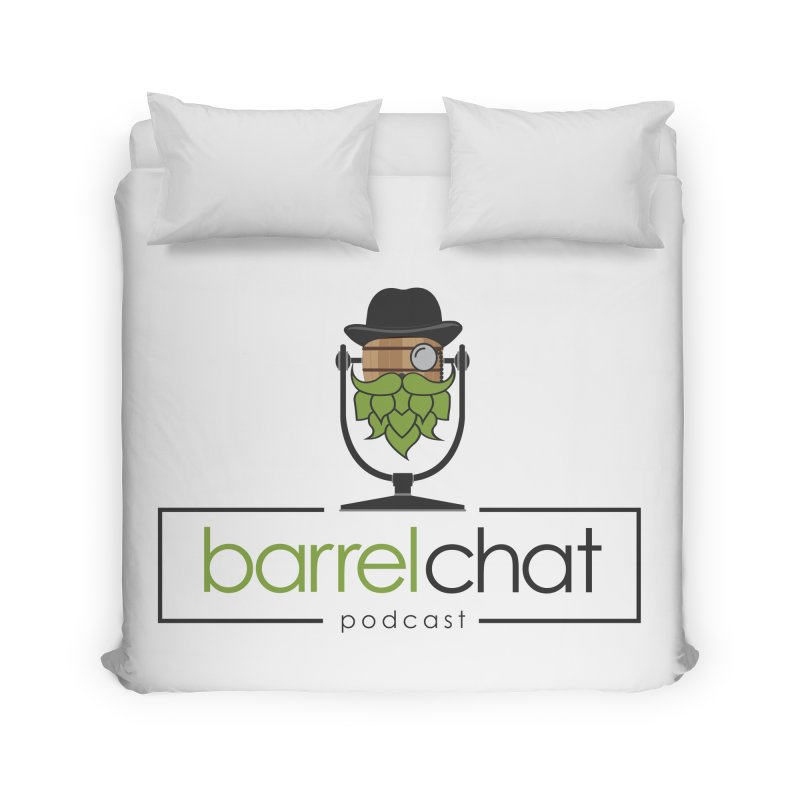 Barrel Chat Home Duvet by Hopped Up Network's Artist Shop