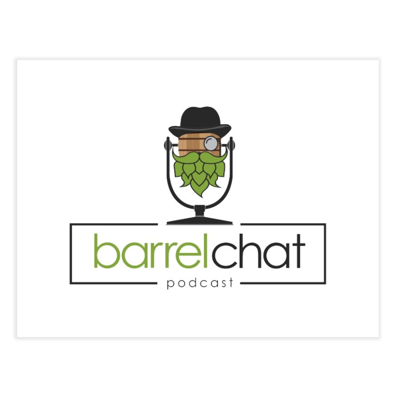 Barrel Chat Home Fine Art Print by Hopped Up Network's Artist Shop
