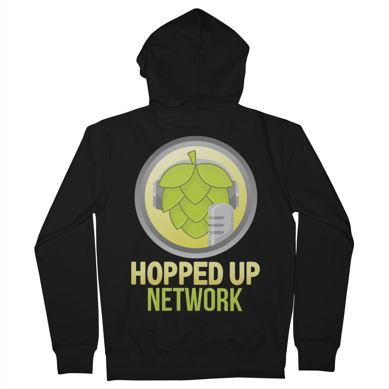 Hopped Up Network Women's French Terry Zip-Up Hoody by Hopped Up Network's Artist Shop