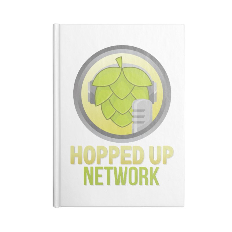 Hopped Up Network Accessories Notebook by Hopped Up Network's Artist Shop