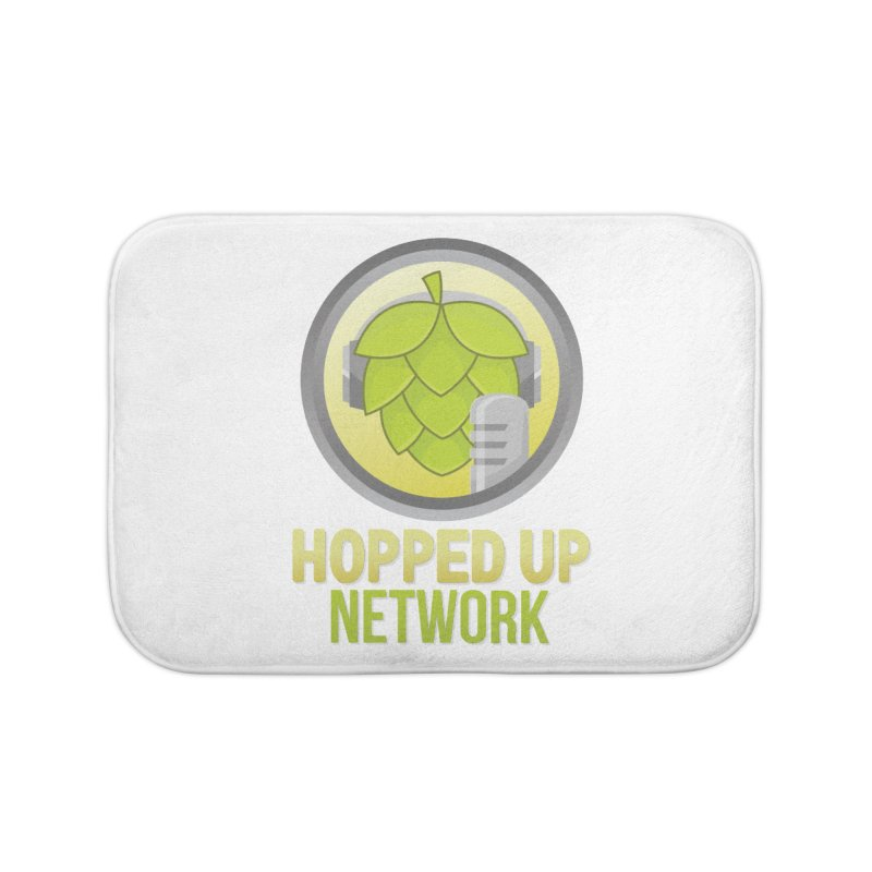 Hopped Up Network Home Bath Mat by Hopped Up Network's Artist Shop