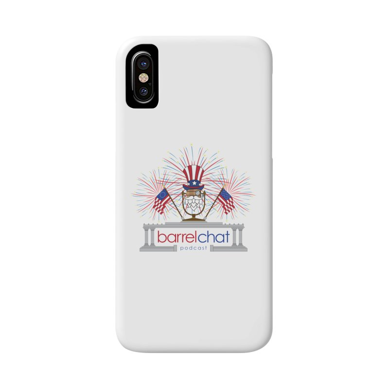Barrel Chat - 4th of July Accessories Phone Case by Hopped Up Network's Artist Shop