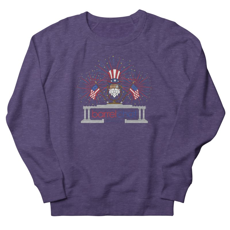 Barrel Chat - 4th of July Men's Sweatshirt by Hopped Up Network's Artist Shop
