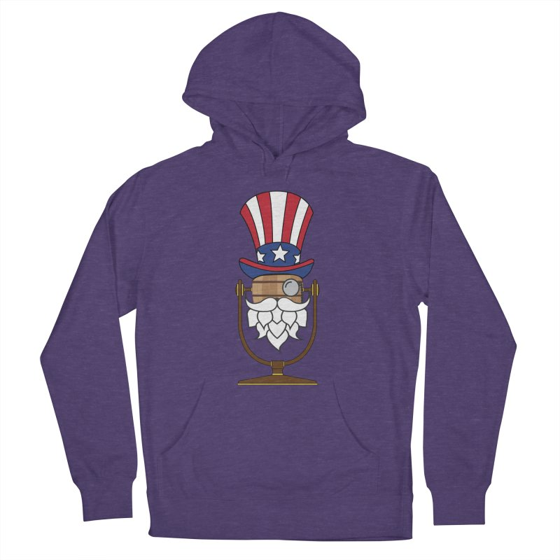 Barrel Chat - 4th of July Hoppy Men's Pullover Hoody by Hopped Up Network's Artist Shop