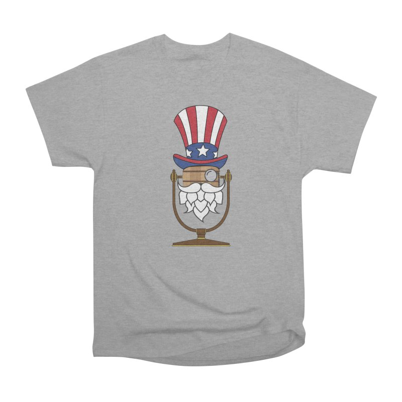 Barrel Chat - 4th of July Hoppy Men's Heavyweight T-Shirt by Hopped Up Network's Artist Shop