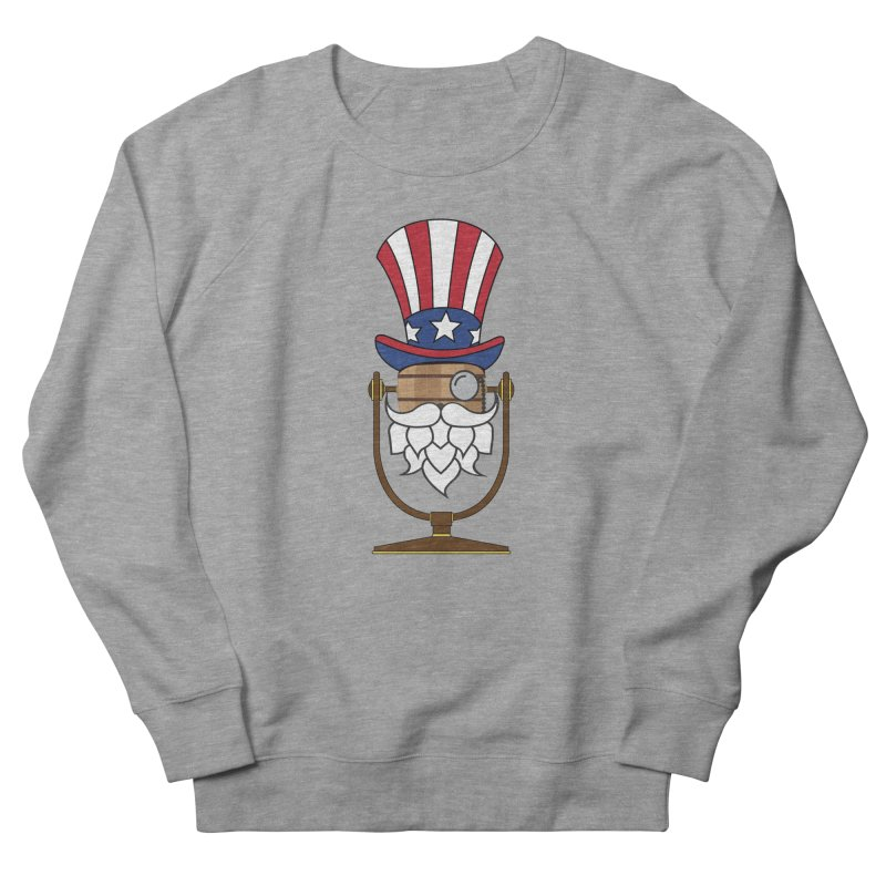 Barrel Chat - 4th of July Hoppy Men's French Terry Sweatshirt by Hopped Up Network's Artist Shop