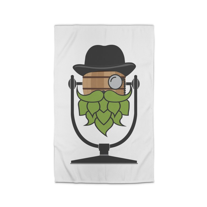 Barrel Chat - Hoppy Home Rug by Hopped Up Network's Artist Shop