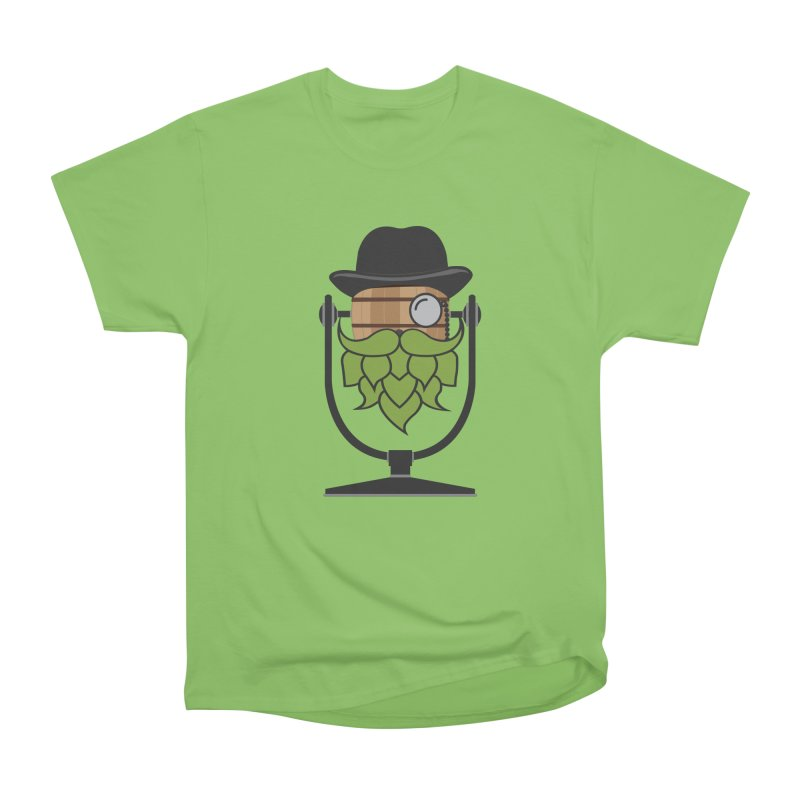 Barrel Chat - Hoppy Women's Heavyweight Unisex T-Shirt by Hopped Up Network's Artist Shop