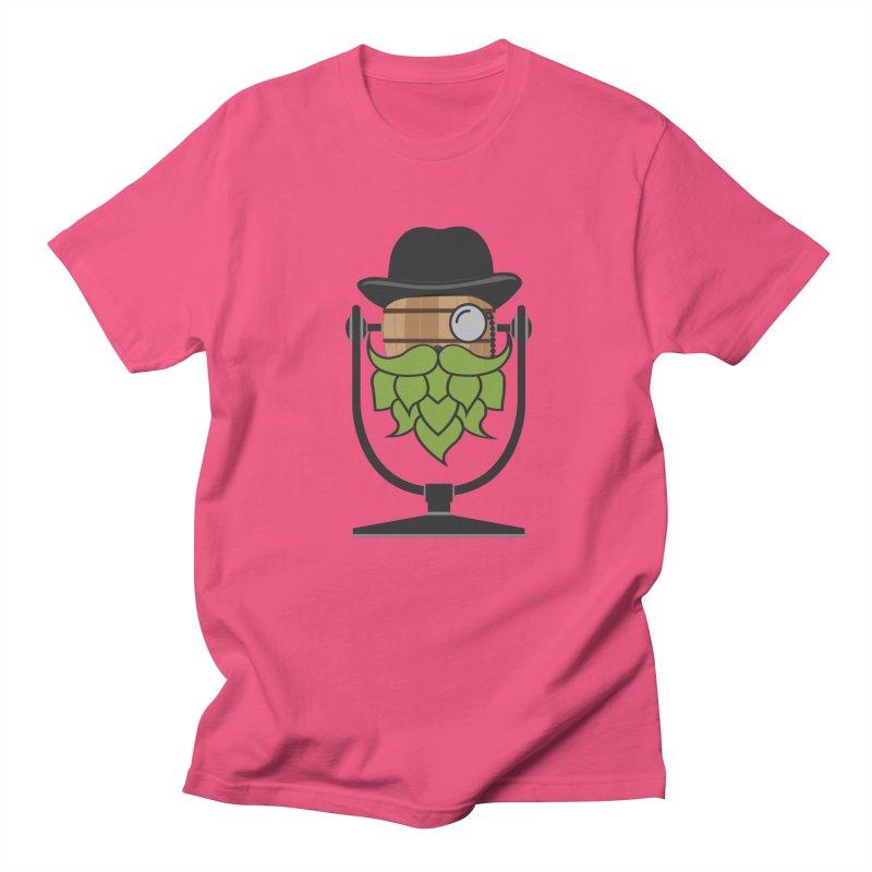 Barrel Chat - Hoppy Men's T-Shirt by Hopped Up Network's Artist Shop