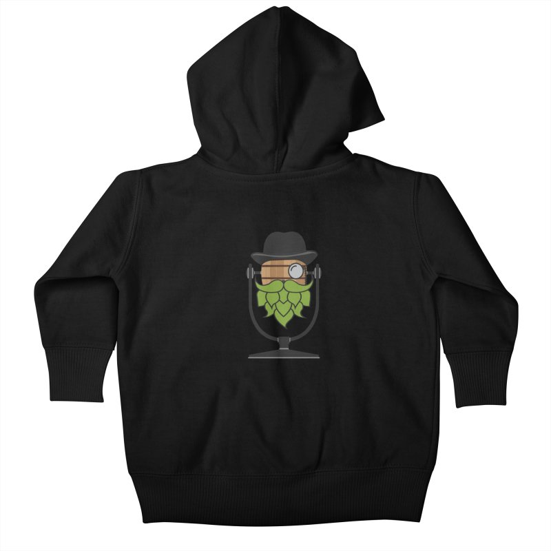 Barrel Chat - Hoppy Kids Baby Zip-Up Hoody by Hopped Up Network's Artist Shop