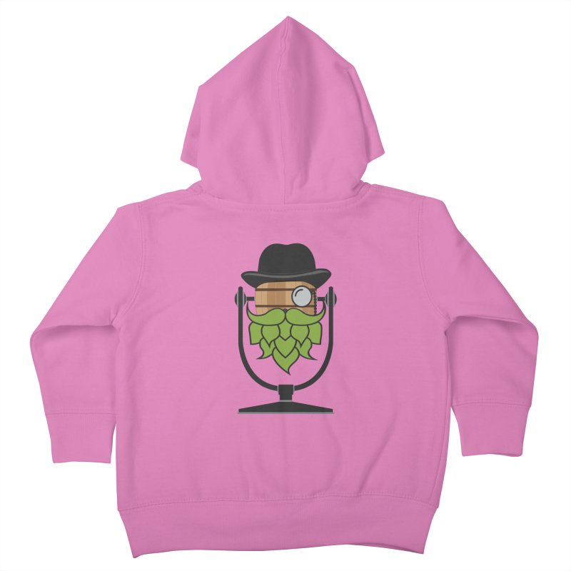 Barrel Chat - Hoppy Kids Toddler Zip-Up Hoody by Hopped Up Network's Artist Shop