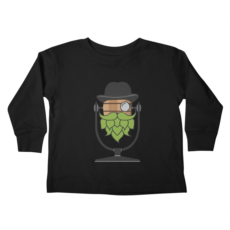 Barrel Chat - Hoppy Kids Toddler Longsleeve T-Shirt by Hopped Up Network's Artist Shop