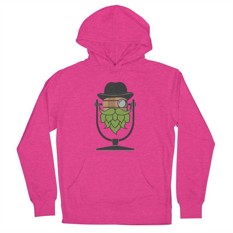 Barrel Chat - Hoppy Men's French Terry Pullover Hoody by Hopped Up Network's Artist Shop