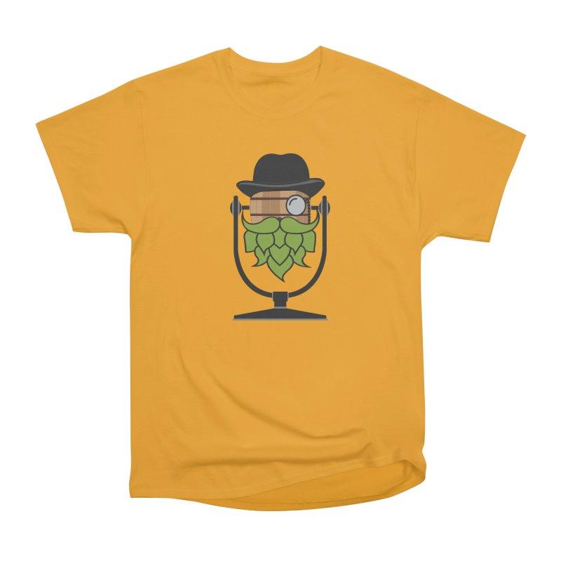 Barrel Chat - Hoppy Men's Heavyweight T-Shirt by Hopped Up Network's Artist Shop