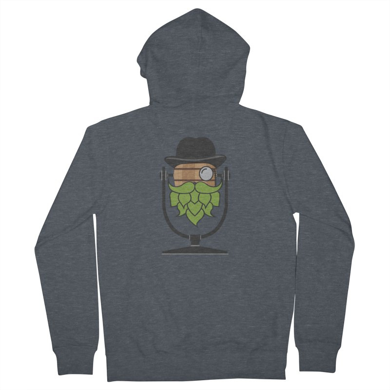 Barrel Chat - Hoppy Women's French Terry Zip-Up Hoody by Hopped Up Network's Artist Shop
