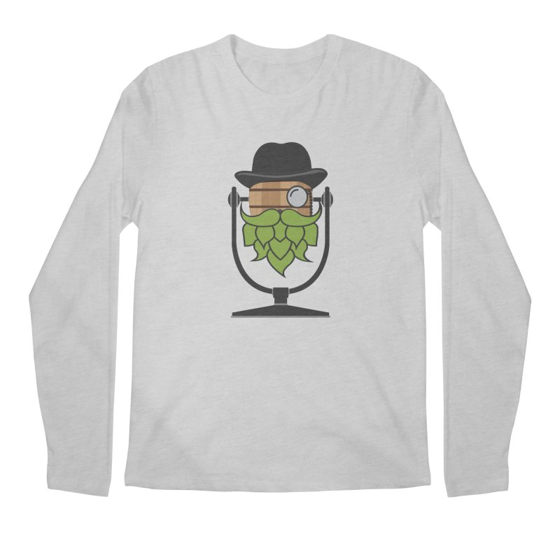 Barrel Chat - Hoppy Men's Regular Longsleeve T-Shirt by Hopped Up Network's Artist Shop