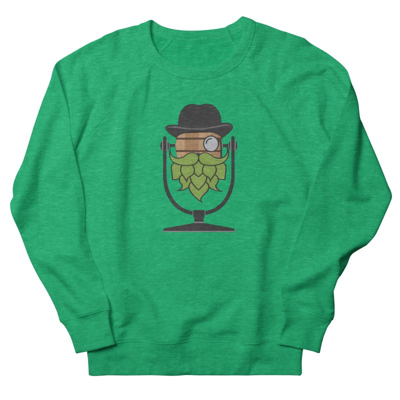 Barrel Chat - Hoppy Men's French Terry Sweatshirt by Hopped Up Network's Artist Shop