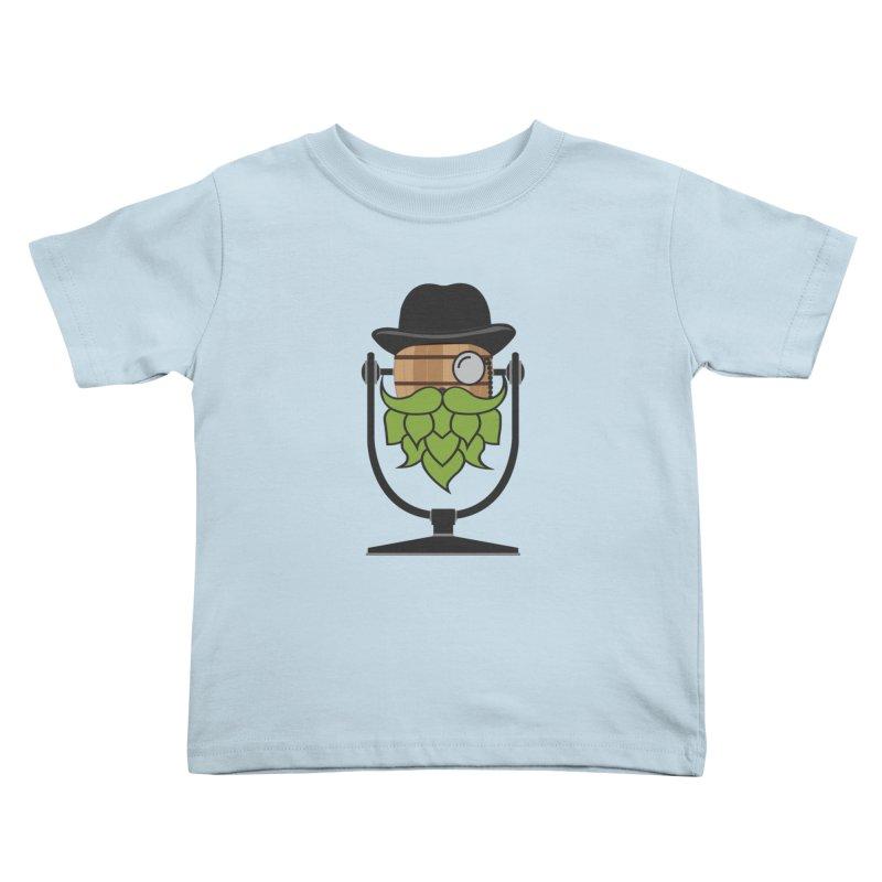 Barrel Chat - Hoppy Kids Toddler T-Shirt by Hopped Up Network's Artist Shop