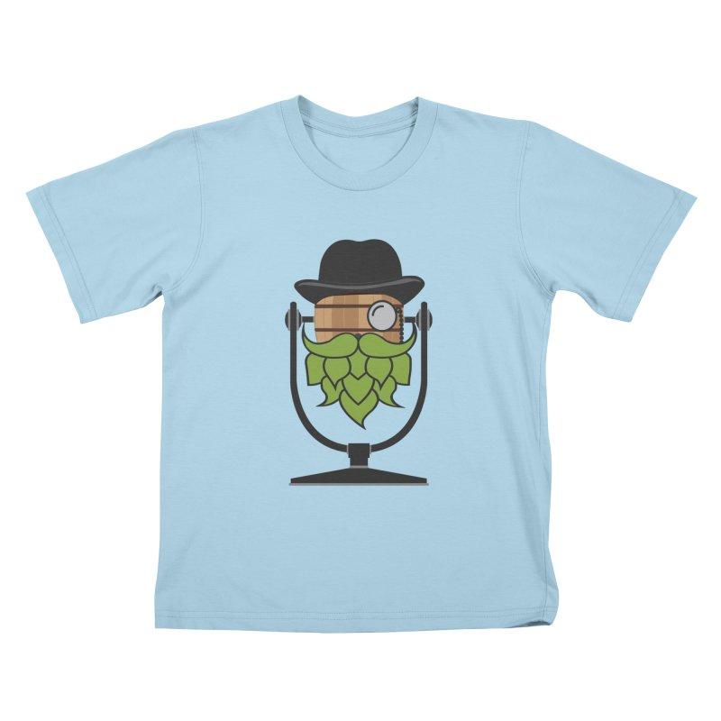 Barrel Chat - Hoppy Kids T-Shirt by Hopped Up Network's Artist Shop
