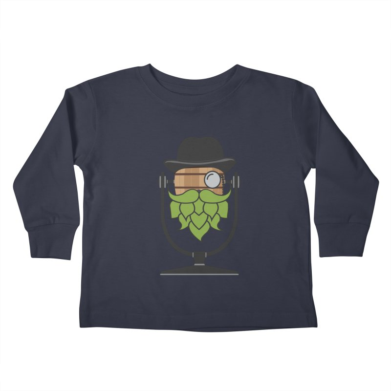 Barrel Chat - Hoppy Kids Toddler Longsleeve T-Shirt by Hopped Up Network's Artist Shop