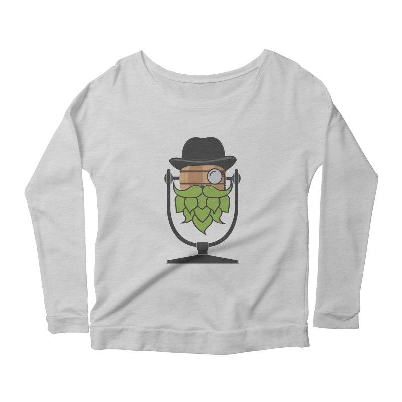 Barrel Chat - Hoppy Women's Scoop Neck Longsleeve T-Shirt by Hopped Up Network's Artist Shop