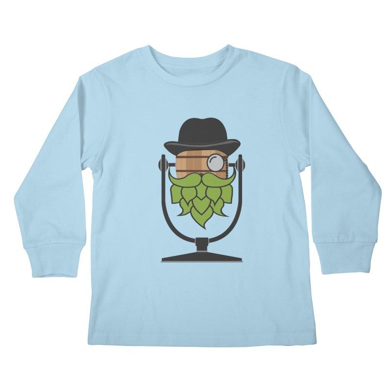 Barrel Chat - Hoppy Kids Longsleeve T-Shirt by Hopped Up Network's Artist Shop